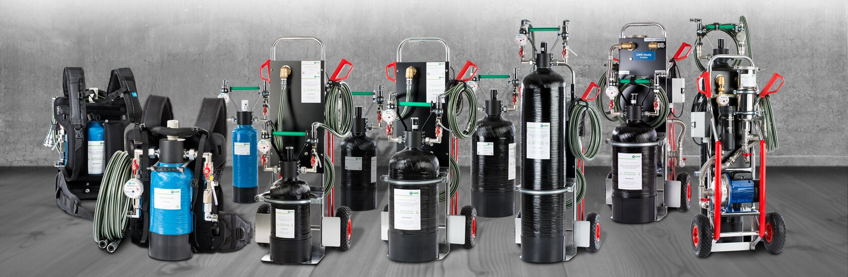 Heating filling systems